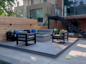 M E Contracting Toronto Landscaping Design Decking Pool