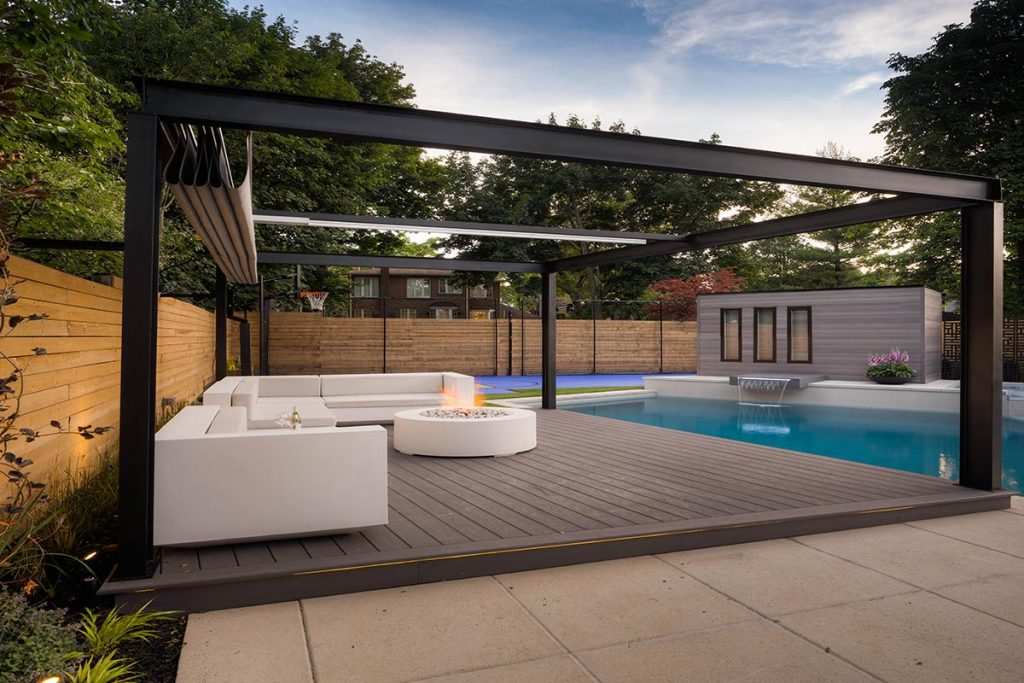 Abu Residence; Toronto Landscaping Design & Pool Construction Project