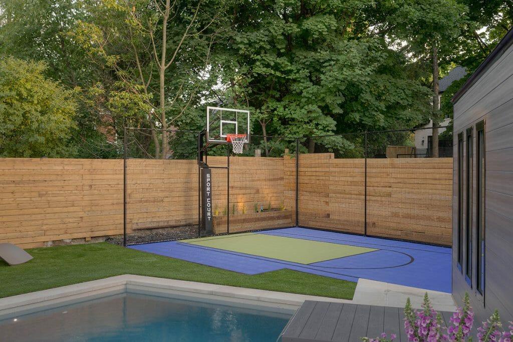 Complete Sports Court & Landscape Design Project; Abu Residence