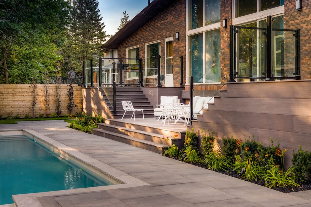 Toronto PVC Decking Project by Toronto Landscaping Contractors, M.E. Contracting.