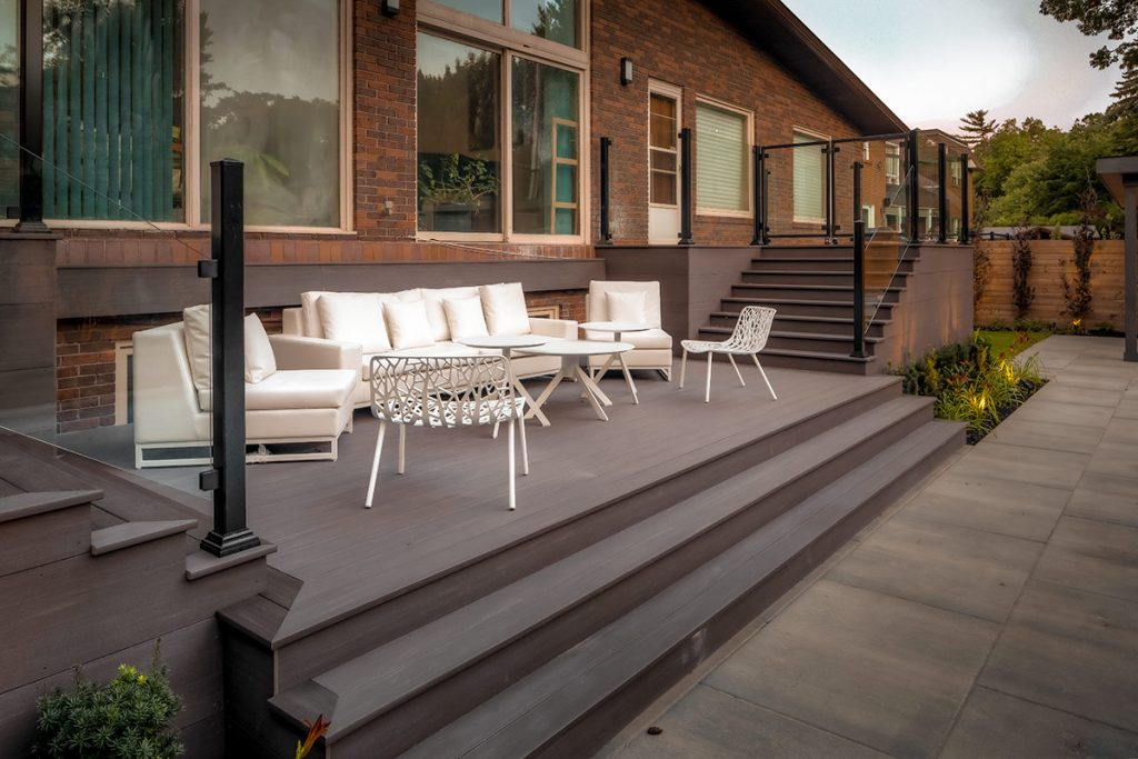PVC Decking Toronto, by Toronto Landscaping Contractors & Deck Builders; M.E. Contracting.