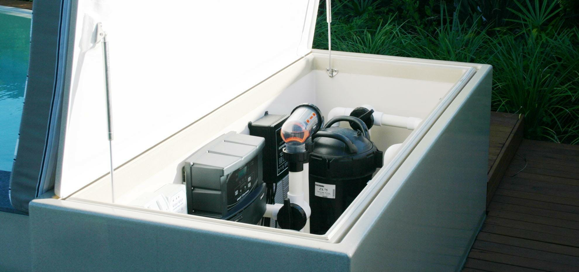Fibreglass Pool pump by Leisure Pools