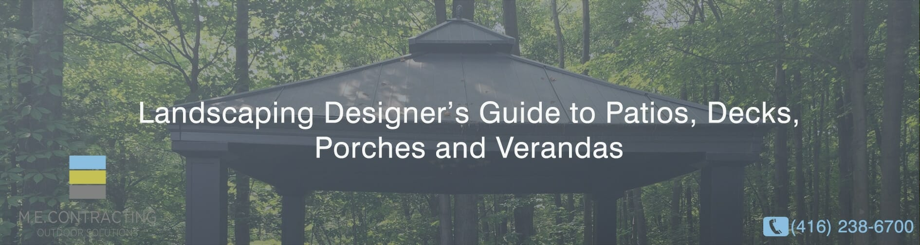 A Landscaping Designer's Guide to Patios, Decks, Porches and Verandas