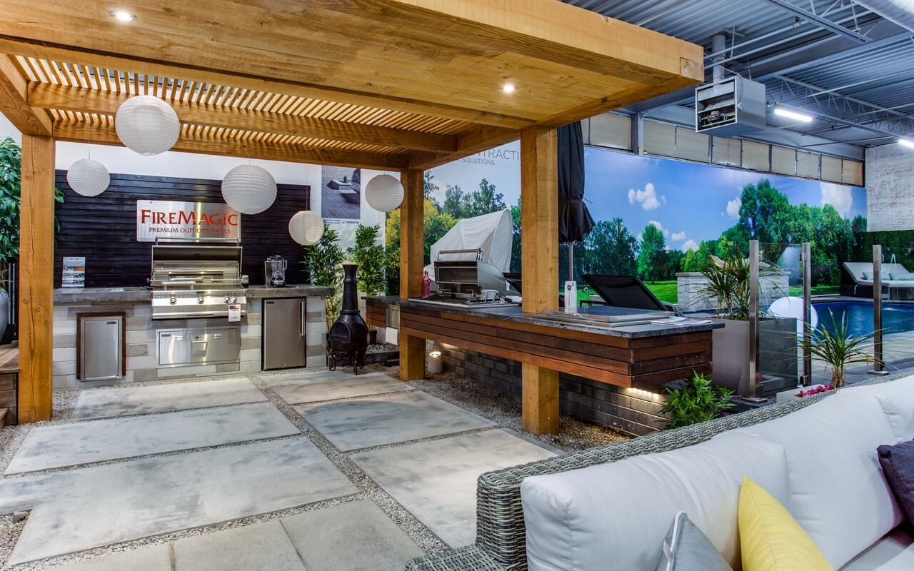 Landscaping showroom in Toronto