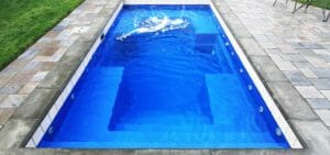 Palladium Plunge Fibreglass pool by Leisure Pools