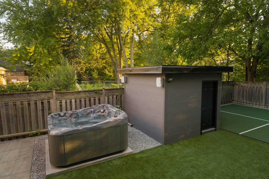 Spa Pool Installation by Toronto Landscaping Company
