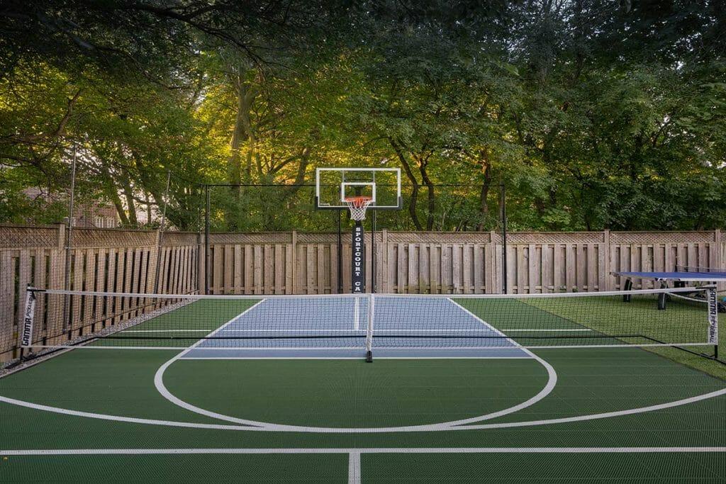 Toronto Landscaping Company; Sports Court Installation