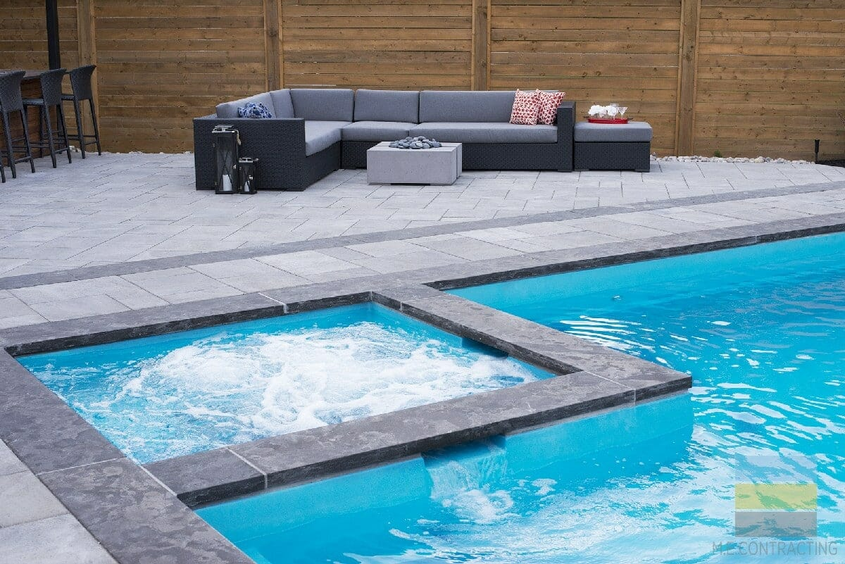 Landscaping Project In Toronto With Pool Construction