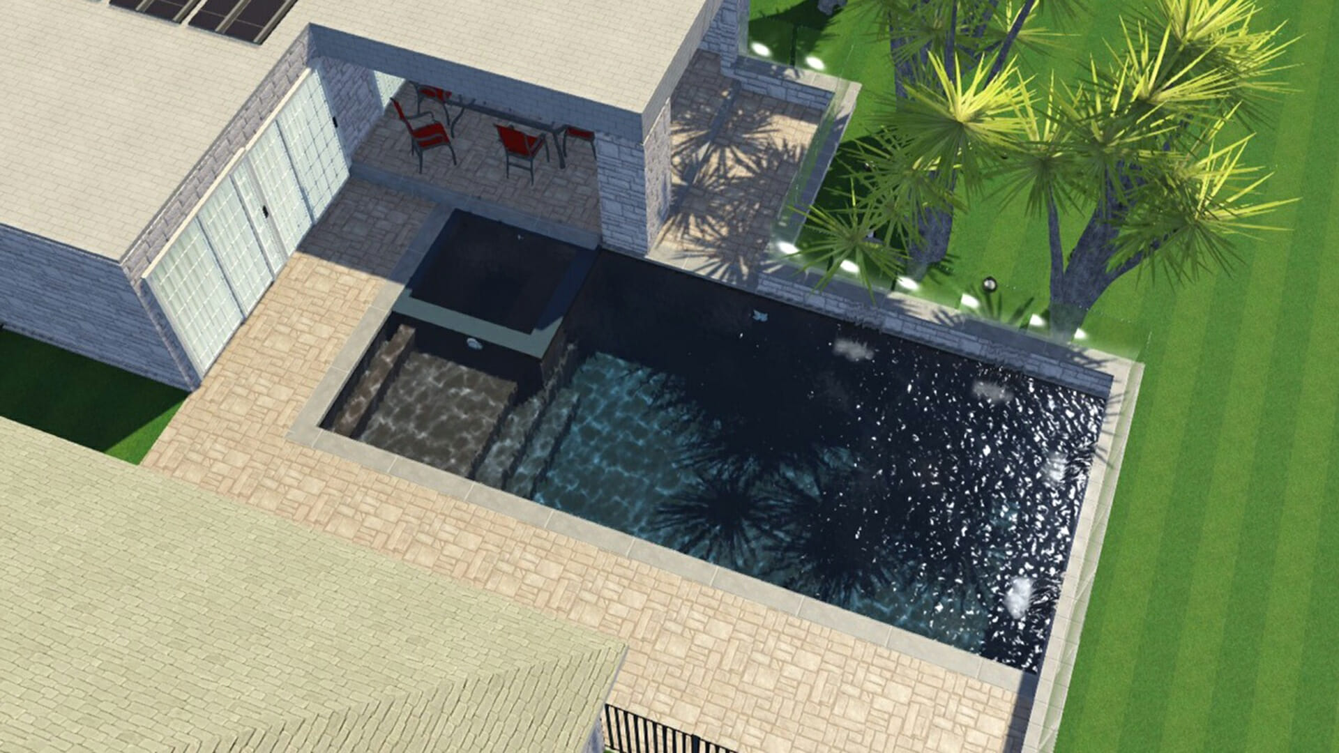 3D design of Ultimate Pool by Leisure Pools