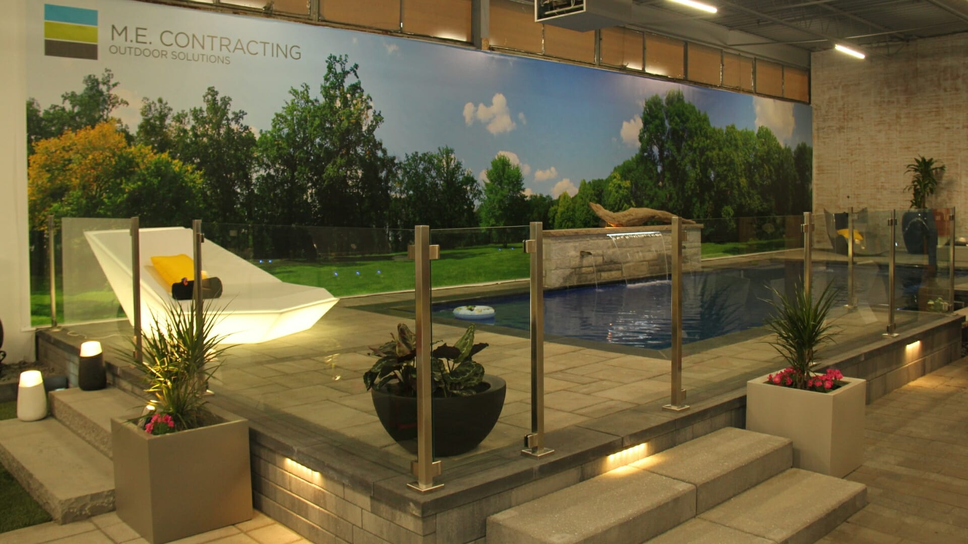 landscaping showroom