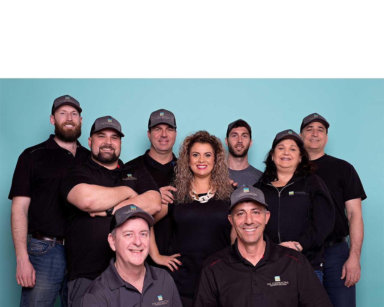 M.E Contracting Professional team